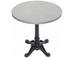 Outdoor table circle