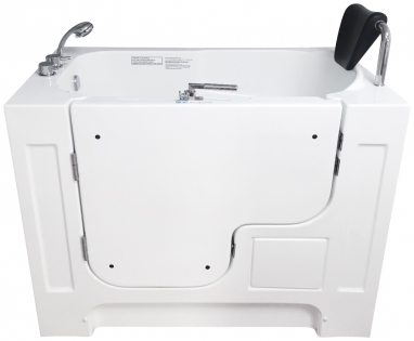Walk-in bathtub for the disabled